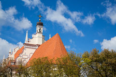 Polsk kyrka Arkivbild