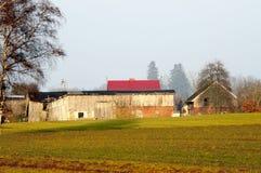 Polsk lantgård Royaltyfria Bilder