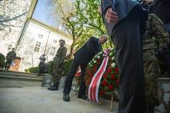 Polsk medborgare och offentlig ferie den Maj 3rd konstitutiondagen Royaltyfri Bild