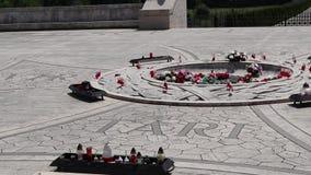 Polsk militär kyrkogård av Montecassino stock video