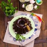 Polsk schokoladebabka Royaltyfri Bild