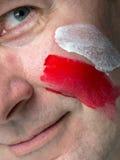 Polsk supporter Royaltyfri Fotografi