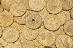 Polsk valuta Royaltyfria Foton