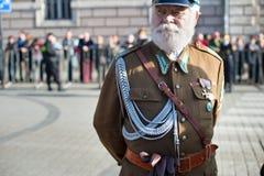 Polska żołnierza portret fotografia royalty free