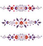 Polska folk - inspiration royaltyfri illustrationer