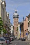Polska, Krakow Sierpień 03-2017 Corpus Christi bazylika C Fotografia Royalty Free