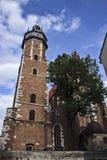 Polska, Krakow Sierpień 03-2017 Corpus Christi bazylika C Zdjęcie Stock