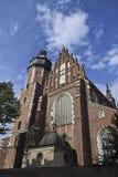 Polska, Krakow Sierpień 03-2017 Corpus Christi bazylika C Obrazy Royalty Free