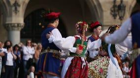 Polska ludowa spółdzielnia na głównym placu podczas rocznika połysku święta państwowego i obywatela konstytucja dzień zbiory