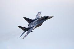 Polska MiG-29 myśliwiec Zdjęcie Royalty Free