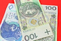 Polska pengar Royaltyfria Bilder