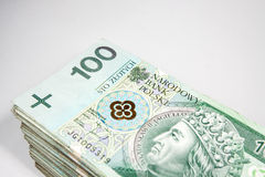Polska pengar Arkivbilder