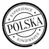 Polska Poland stamp Stock Images