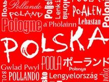 Polska, Pologne, Pologne Images stock