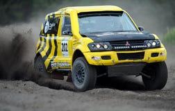 Polska Safari Rally Cross Championship Royaltyfria Bilder