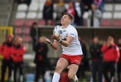Polska, Szwajcaria rugby gra - Obrazy Royalty Free