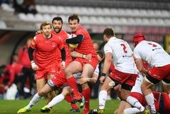 Polska, Szwajcaria rugby gra - Zdjęcie Royalty Free