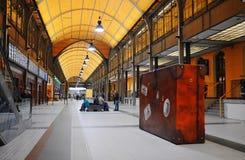 Railway station. Wroclaw Stock Image