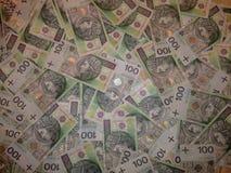 Polska waluta Zdjęcia Royalty Free