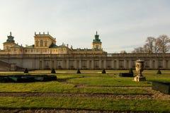 Polska, Warszawa, Grudzień 2015 Królewscy ogródy przy Obraz Royalty Free
