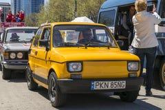 Polski菲亚特126p 免版税图库摄影
