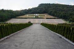 Polski cmentarz przy Montecassino Zdjęcia Stock