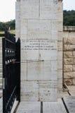 Polski cmentarz przy Montecassino Obraz Royalty Free