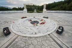 Polski cmentarz przy Montecassino Zdjęcia Royalty Free