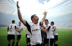 Polski finał rozgrywek pucharowych: Legia-Lech Fotografia Royalty Free