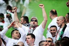 Polski finał rozgrywek pucharowych: Legia-Lech Zdjęcie Royalty Free