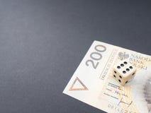 Polski hazard zdjęcie royalty free