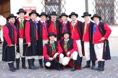 Polski Kanadyjski Ludowego tana zespół Fotografia Stock