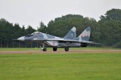 Polski Mig-29 Obrazy Royalty Free