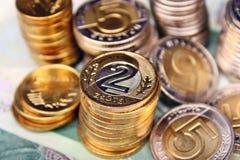 Polski pieniądze Obrazy Stock