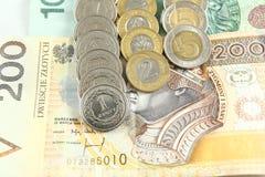 Polski pieniądze Obraz Royalty Free