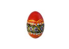 Polski Wielkanocny jajko Zdjęcie Stock