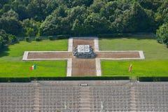 Polski Wojenny cmentarz w Cassino, Włochy Zdjęcia Stock