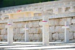 Polski Wojenny cmentarz w Cassino, Włochy Zdjęcie Royalty Free