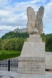 Polski Wojenny cmentarz w Cassino, Włochy Zdjęcia Royalty Free