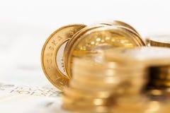 Polski złoty, zakończenie Zdjęcie Royalty Free