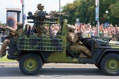 Polskie GROM jednostki specjalne Fotografia Royalty Free