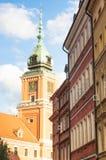 Polskt berömt historiskt ställe Turism i europé Royaltyfri Bild