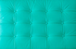 Polsterung des echten Leders auf dem modernen Stuhl Stockbild