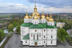 Poltava Holy Cross Nunnery Stock Images