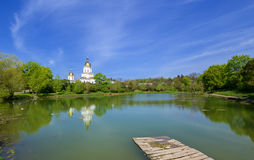 Poltava. Ukraine. Trinity church in Dykanka. Poltava. Ukraine Stock Photography