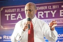 Político Herman Cain Fotos de archivo