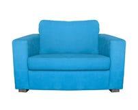 Poltrona azul Imagem de Stock