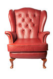 Poltrona de couro Imagem de Stock Royalty Free