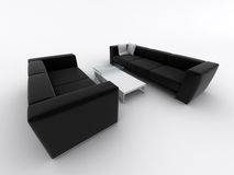Poltrona del sofà illustrazione vettoriale