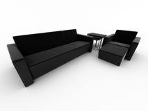Poltrona del sofà royalty illustrazione gratis